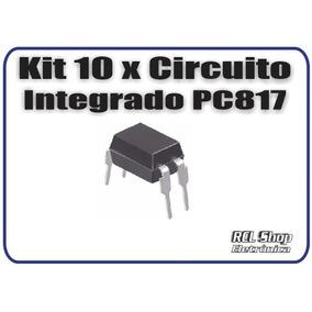 Lote 10 Pcs Ci Optoacoplador Pc817 Original