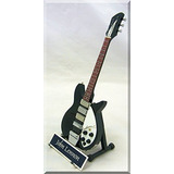 John Lennon Miniature Guitar 1964 Rickenbacker Beatles W/nam
