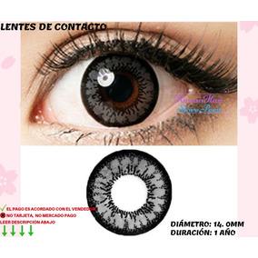 8e7ff2fda0b90 Lentes De Contacto Gris Oscuro   Plomo Cosplay Disponibles