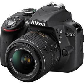 Câmera Nikon D3300 Com Lente 18-55mm F/3.5-5.6g Vr Ii Dx Nik