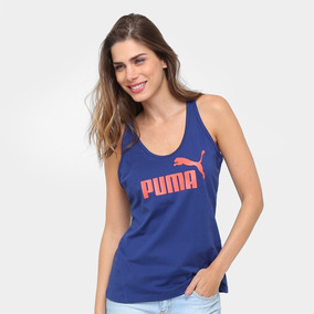 Camiseta Regata Puma Ess Sporty No.1 Tank Feminina b196253260f