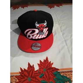Gorra New Era Chicago Rojo Y Negra Usada 9ff11f62160