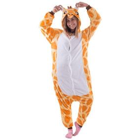 Kigurumi Girafa Pijama - Calçados 799acfcdce4fc