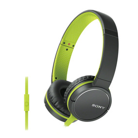 Audífonos Sony Zx660ap Compatibles Con Smartphone Verde