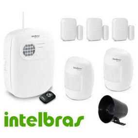 Kit Alarme Residencial E Comercial Intelbrás 4 Setores