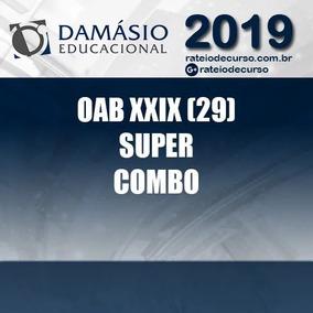 Combo Oab_xxix 29 + Xxviii 2019 - Extensivo