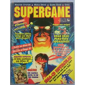 Revista Supergame N°20 C/poster Do Taz Mania - 1993 - Rara!