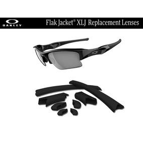 Gomas De Repuesto Para Oakley Flak Jacket Xlj Color Negro