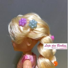 Presilha De Cabelo Mini Flor P/ Boneca Barbie Kelly Blythe
