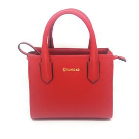 Bolsa Feminina Dumond Shoulder Bag Vermelho Real Na Li & Ca