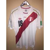 Camiseta Umbro De La Seleccion Peru Version Elite Mundial 18