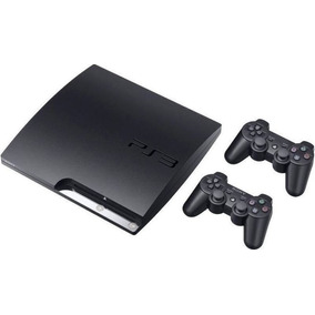 Playstation 3 Ps3 Slim Play3 +2 Controles + Gta 5 + 39 Jogos