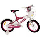 Bicicleta Monark Bmx Ranger Aro16 Alumínio Com Cesta