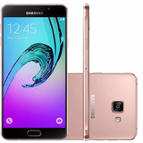 Samsung A710 Galaxy A7 Duos Rosa 4g 16gb Original | Vitrine