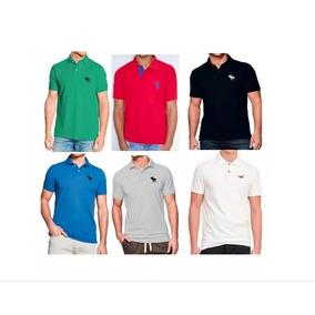 823eb4f190f72 Camisa Camiseta Polo Abercrombie By Hollister Confira Fotos ...
