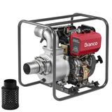 Motobomba 10hp Autoescorvante Motor 10hp Diesel