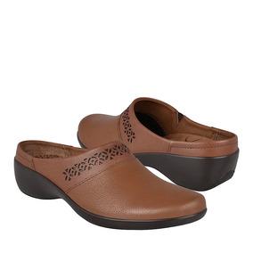 Zapatos Casuales Para Dama Flexi 51709 Piel Tan