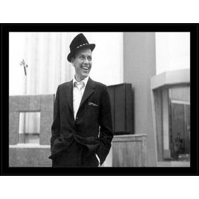 4d01599bb5a3e Quadro Decorativo Frank Sinatra Música Personalidades R928
