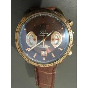 af8aff4591d Tag Heuer Grand Carrera Marrom - Relógios De Pulso no Mercado Livre ...