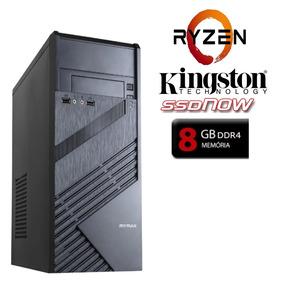Computador Hyper 1.0 Amd Ryzen 3 2200 Ssd 240gb 8gb Ddr4