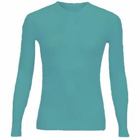 Camisa Camis Térmica Unissex Manga Longa Compressão Uv-50 bacacf36479b0
