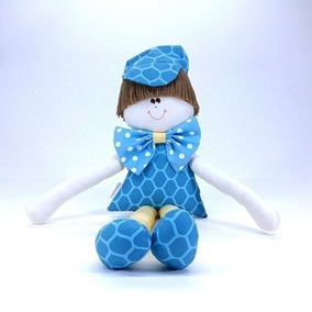 Boneco Sulo Moderninho Gravata Coleção Tiffany Azul Turquesa