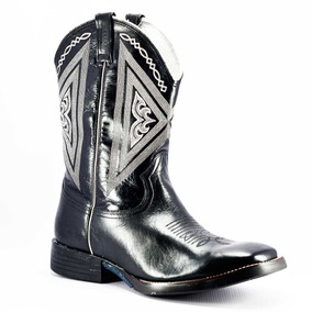 22f967f246f98 Bota Texana Masculina Preta Rodeo West Masculino Botas - Sapatos no ...