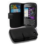 Cadorabo Book Style Wallet Design Para Blackberry Q10 Con 2