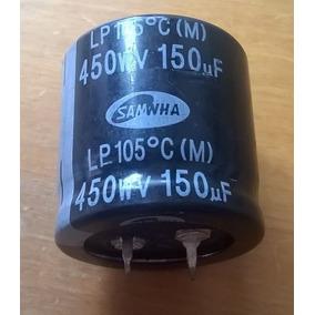4 Pçs Cap Eletrolítico 150uf X 450v 105º 150x450 - Msia &