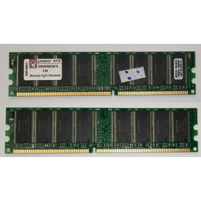 Memoria 1 Gb Kingston Ddr1-400 Pc-3200 Para Pc Intel / Amd