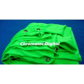 Tela Chroma Key - Blue Ou Green Screen - 1.80 X 4.00 M
