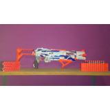 Arma Nerf (battlescout) + 6 Paquetes De Municion