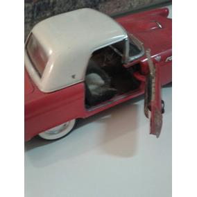 Mini Carro De Colecao 1/18 Vermelho