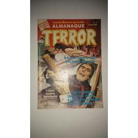 Revista Capitao Misterio Apresenta Almanaque Terror N°3