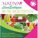 Bolsas Reutilizables Ecológicas Frutas Y Verduras Con 10 Pza
