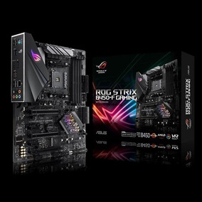 Placa Mãe Asus Rog Strix B450-f Gaming Amd Am4 Ryzen Ddr4