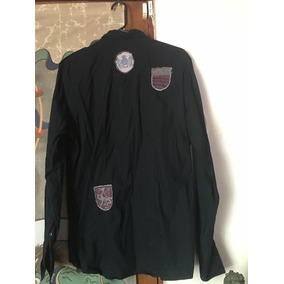 Camisa Inc International Concepts Moda Hombre Black Negra