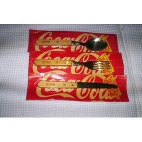 Coleccionables Cocacola Cubiertos En Madera...leer..