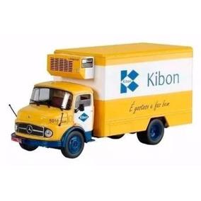 Miniatura Caminhão Mercedes-benz L1113 1968 Kibom 1:43 R$65