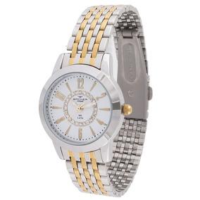 ff96860b3a5 Prata E Dourado Relogio Backer Feminino - Relógios no Mercado Livre ...
