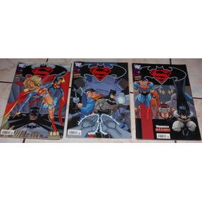 Lote 03 Hqs Superman E Batman - Panini - 10-11-12
