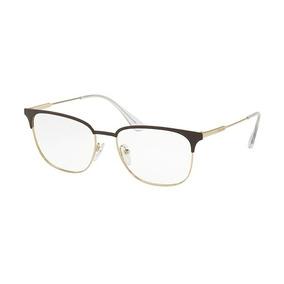 8fcf67a56c2d0 Oculos Prada Dourado - Óculos no Mercado Livre Brasil