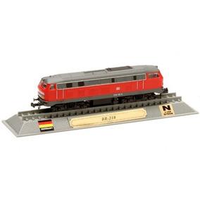 Locomotivas Do Mundo Edição 00 Br-218