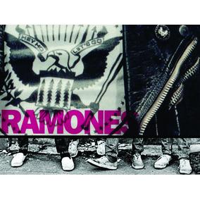 Poster Ramones Impressão Laser A3 - 001