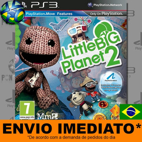 Jogo Littlebigplanet Il Psn - Promoção Midia Digital Ps3