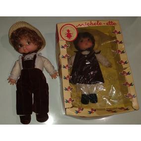 Muñecas Antiguas Michele-ette Decada De Los 70s