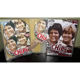 Dvds Box Chips Temporadas 3 E 4 Digitais Dubladas