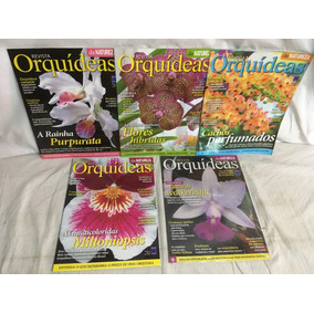 Kit 31 - Revistas Orquídeas - 5 Revistas - Novas