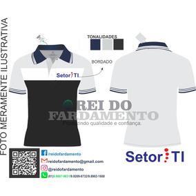 ... 1 Bordado Peito · Camisa Polo Kit 10 Unidades 8f45d69a50999