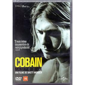 Dvd Cobain - Montage Of Heck Lacrado Frete Gratis Nirvana